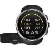 Unisex Suunto Spartan Sport Black HR Alarm Chronograph Watch SS022648000