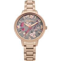 Damen Cath Kidston British Birds Rose Gold Armband Uhr