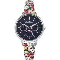 Damen Cath Kidston Mews Ditsy Navy Armband multifunktional Uhr