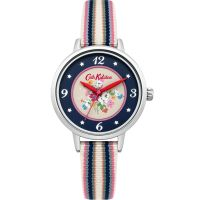 Cath Kidston Clifton Rose Woven Strap WATCH