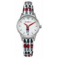 Damen Cath Kidston Guards rotierend Scheibe Armband Uhr