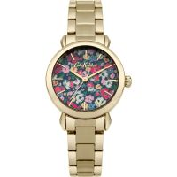 Ladies Cath Kidston Mews Ditsy Gold Bracelet Watch