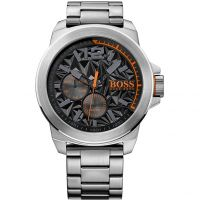 Hommes Hugo Boss Orange Nouveau York Montre