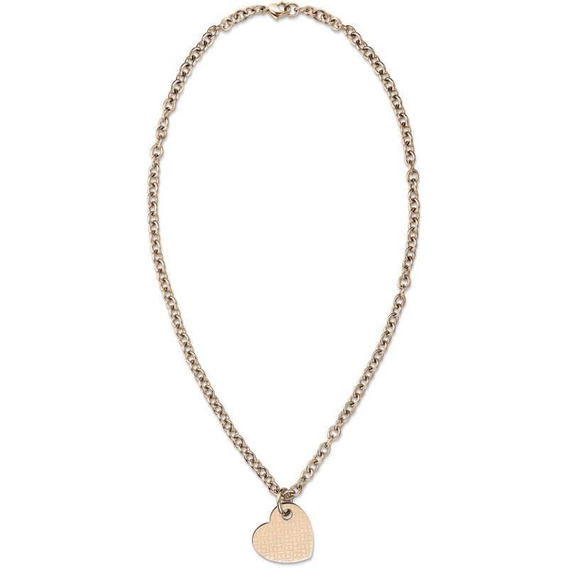 Ladies Tommy Hilfiger Rose Gold Plated Necklace 2700717
