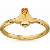 Damen Orla Kiely PVD Gold überzogen Biene Ring