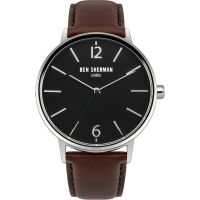 Ben Sherman London Portobello Interchangable Herenhorloge Bruin WB059BRN