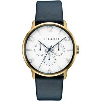 Ted Baker James Multifunction Herenhorloge Blauw TE10030764