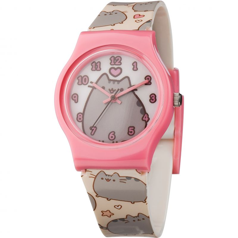 Childrens Character Pusheen Printed Strap Watch PUSH44