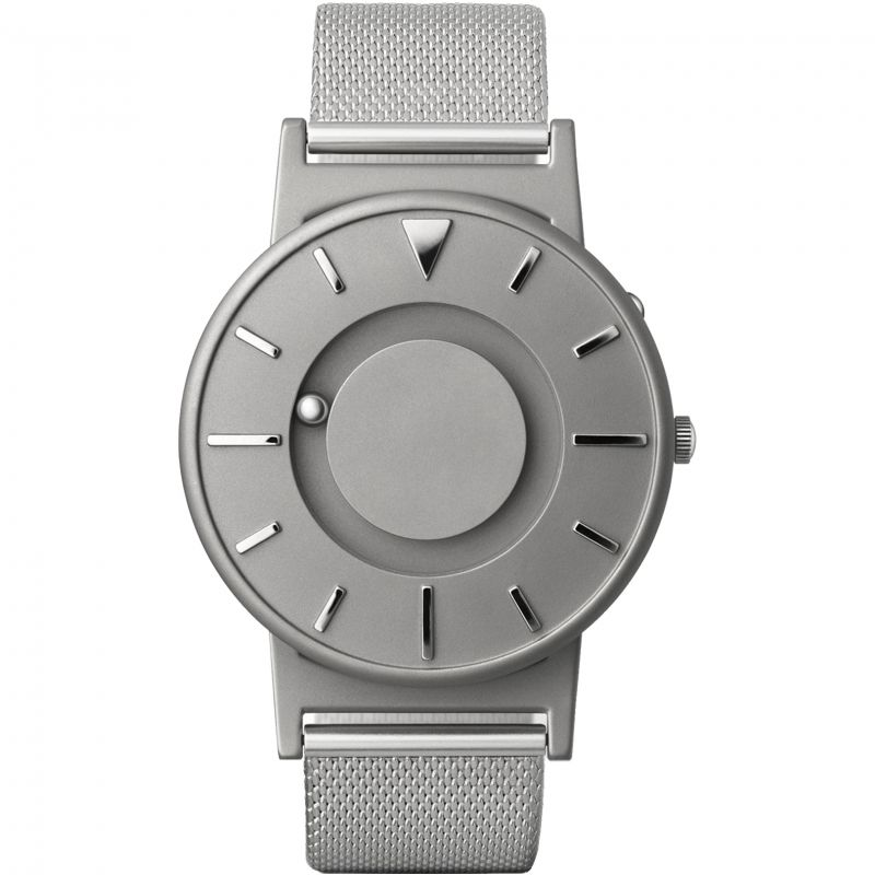 Unisex Eone The Bradley Mesh Silver Titanium Watch