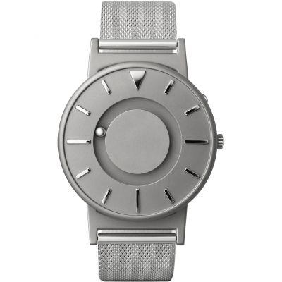 Unisex Eone The Bradley Mesh Silver Titanium Watch BR-C-MESH