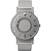 unisexe Eone The Bradley Mesh Silver Watch BR-C-MESH