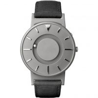 unisexe Eone The Bradley Canvas Black Strap Watch BR-C-BLACK