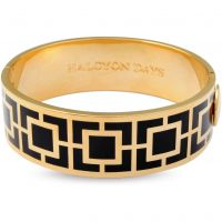 Ladies Halcyon Days Gold Plated Maya Bangle 202/DH017