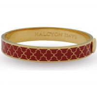 Damen Halcyon Days vergoldet Agama Armreif