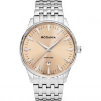 Herren Rodania Swiss Zermatt Gents Bracelet Watch RS2514140