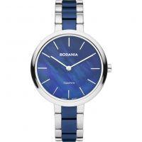 Damen Rodania Swiss Firenze Damen Armband Keramik Uhren
