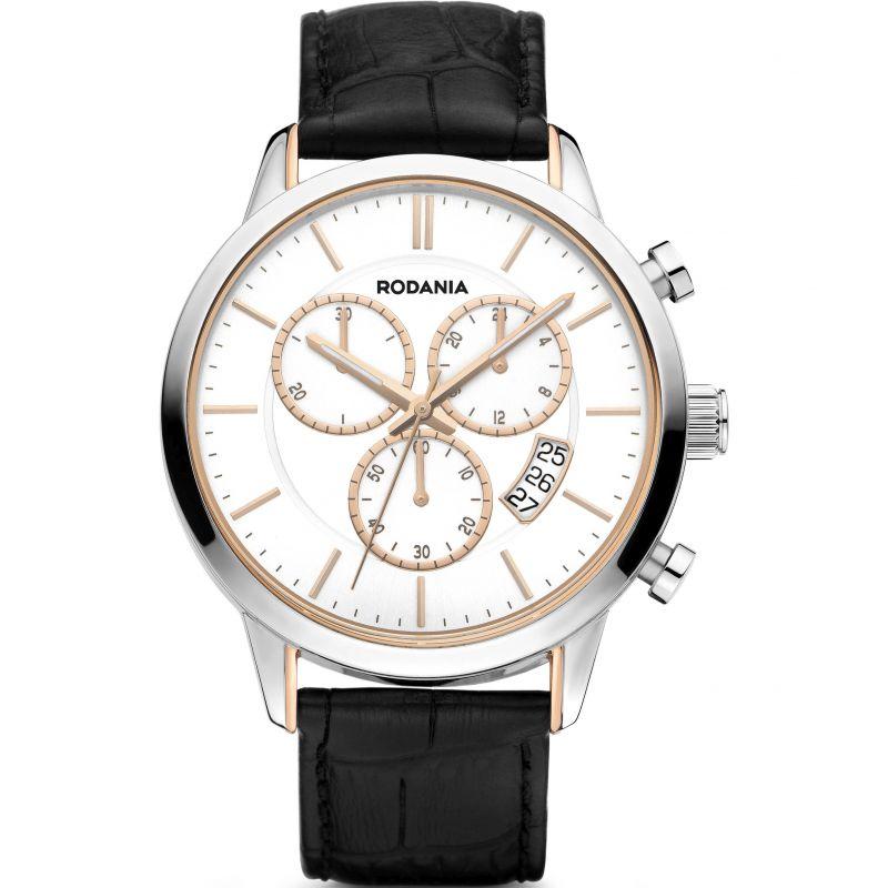 Mens Rodania Oxford Gents strap Chronograph Watch