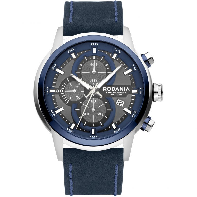 Mens Rodania Drive Gents strap Chronograph Watch