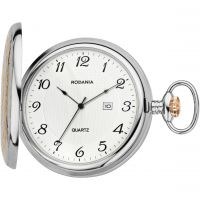 Rodania Pocket watch Mens Fickurklocka Silver RF2628853
