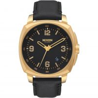 Unisex Nixon The Charger Leder Uhr
