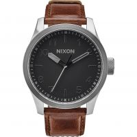 Herren Nixon The Safari Leder Uhr
