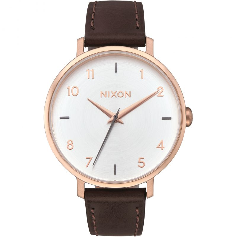 Unisex Nixon The Arrow Leather Watch