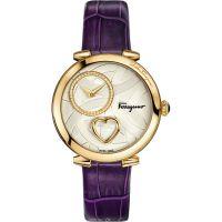 Ladies Salvatore Ferragamo Cuore Diamond Watch