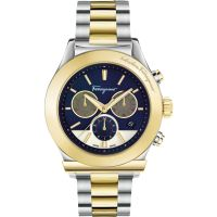 Herren Salvatore Ferragamo 1898 Chronograph Watch FFM110016