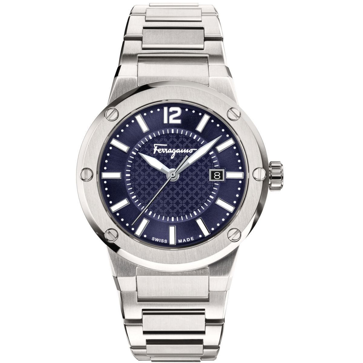 Salvatore Ferragamo F-80 | Reloj para Hombre Plata FIF030015 | ES ...
