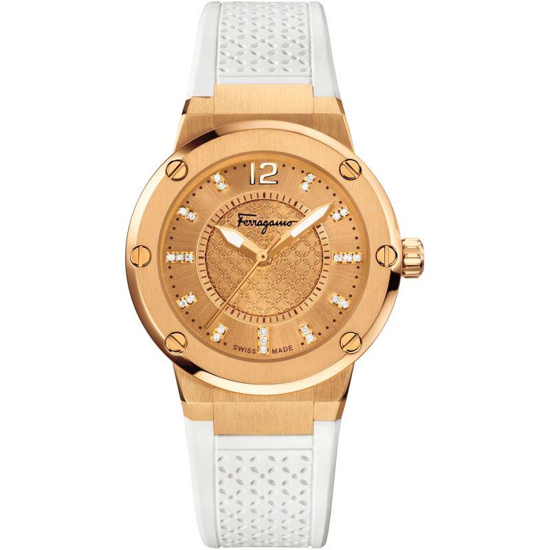 Damen Salvatore Ferragamo F-80 Watch FIG070015