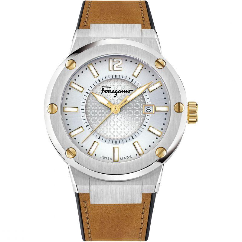 Mens Salvatore Ferragamo F-80 Watch FIF080016