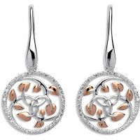 Ladies Unique Sterling Silver Earrings ME-577