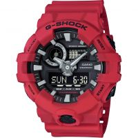 homme Casio G-Shock Alarm Chronograph Watch GA-700-4AER