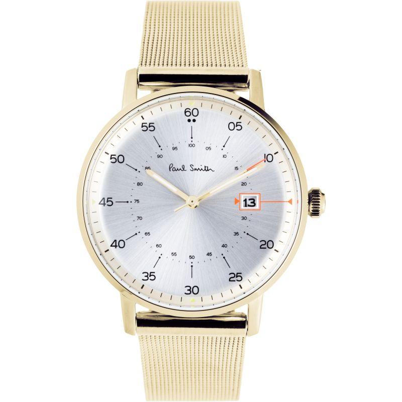 Mens Paul Smith Gauge Mesh Bracelet Watch