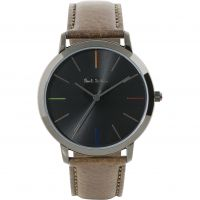 Unisex Paul Smith MA Leather Strap Watch P10090