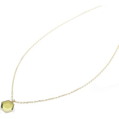 MIMOZA-NECKLACE-GOLD Image 0