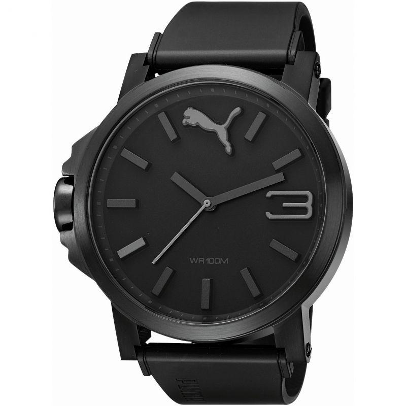 Mens Puma PU10294 ULTRASIZE 50 - 100 black Watch