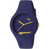 Mens Puma PU10300 FORM - blueberry gold Watch