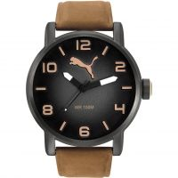 Herren Puma PU10414 ALTERNATIVE ROUND - leatherbrown Uhr