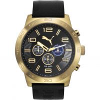 Orologio da Uomo Puma PU10422 DEFINITION - gold black PU104221004