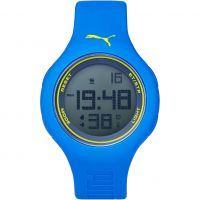Unisex Puma PU91080 - blue green Alarm Chronograph Watch