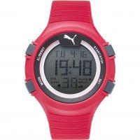 Herren Puma PU91128 FAAS 100 L - red Wecker Chronograf Uhr