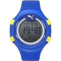 Herren Puma PU91128 FAAS 100 L - light blue Wecker Chronograf Uhr