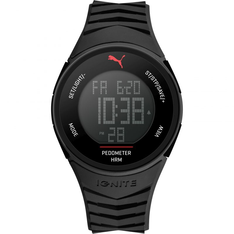 Unisex Puma PU91135 IGNITE - black Alarm Chronograph Watch