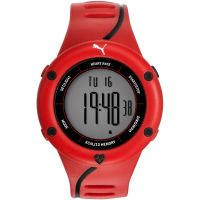 Puma PU91136 CARDIAC 01 - red black Herenchronograaf Rood PU911361003