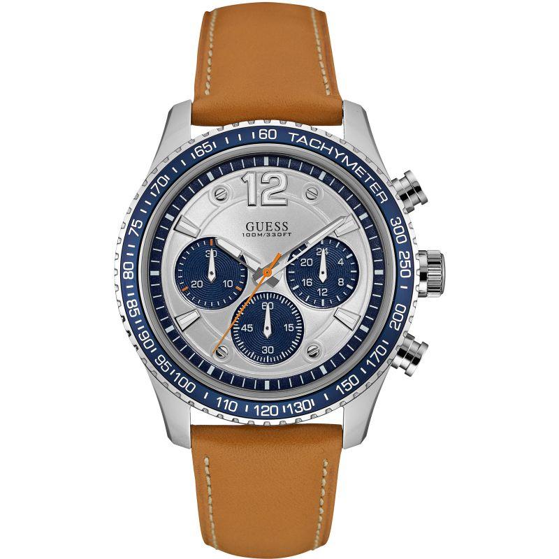 Mens Guess Fleet Chronograph Watch
