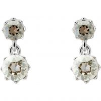 femme Ted Baker Jewellery Connolee Crystal Crown Short Earring Watch TBJ1470-01-230