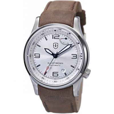 Elliot Brown The Tyneham Herrenuhr in Braun 305-003-L12