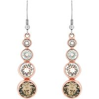 femme Karen Millen Jewellery Crystal Drop Earrings Watch KMJ047-24-161