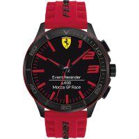 Herren Scuderia Ferrari Alarm Watch 0830376